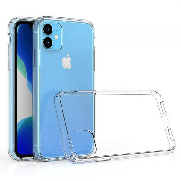 Чехол силиконовый для iPhone 11 прозрачный