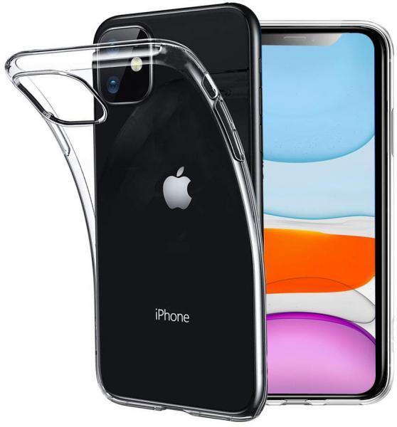 Чехол силиконовый прозрачный для iPhone 11 Pro