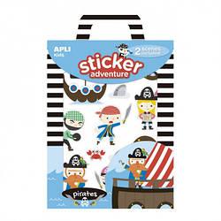 """Игровой набор с наклейками """"Пираты"""" Apli kids"""