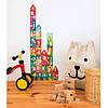 """Пазл для обучения счету """"Строим дом. Один. Два. Три"""" -30 элементов Apli Kids, фото 3"""