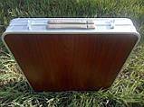 Стол туристический раскладной со стульчиками для пикника, фото 3