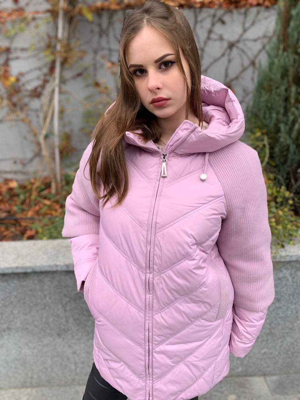 Зимняя светлая куртка DOSUESPIRIT 823-2-9