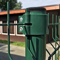 Металлические столбы из оцинкованной стали для ограждения длина 2500мм