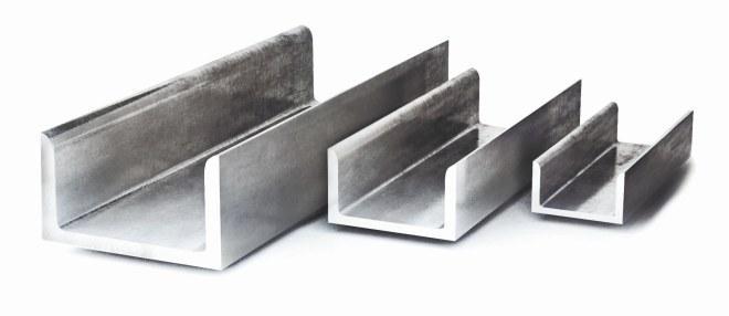 Швеллер алюминиевый АД31  100х50х5,0 мм ан/бп