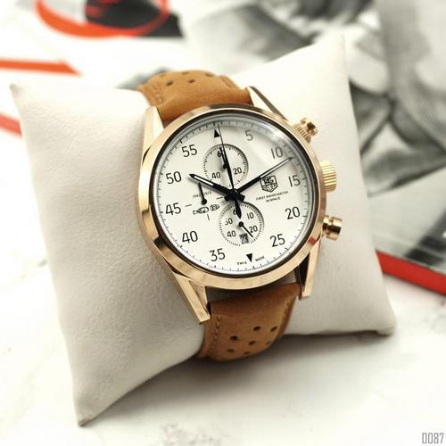 Tag Heuer Carrera 1887  (Gold-White)