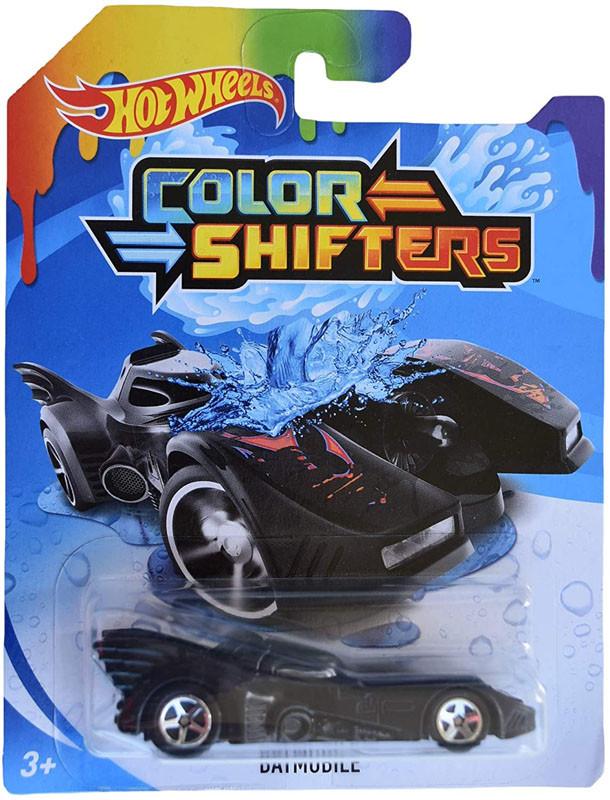 Машинка Хот Вилс меняющая цвет, Hot Wheels™ Colors Shifters (BATMOBILE® - GBF30)