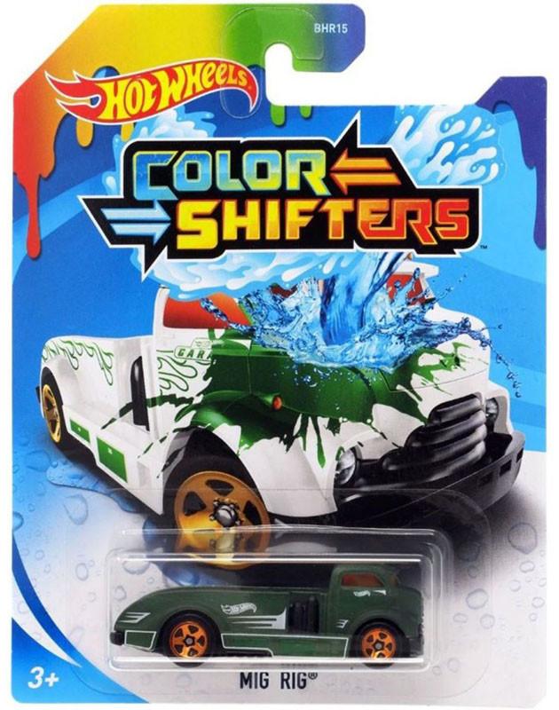 Машинка Хот Вилс меняющая цвет, Hot Wheels™ Colors Shifters (MIG RIG® - GKC21)