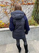 Зимова куртка з капюшоном DOSUESPIRIT 852-8, фото 3