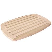 Доска овальная для нарезки хлеба 25*40см mz468036 MAZHURA