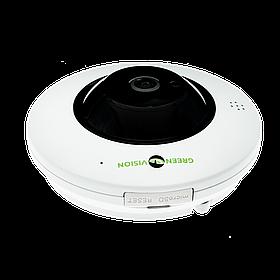 IP камера внутренняя GreenVision GV-075-IP-ME-DIА20-20 (360) POE