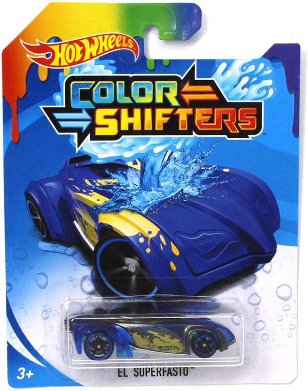 Машинка Хот Вилс меняющая цвет, Hot Wheels™ Colors Shifters (EL SUPERFASTO® - BHR28)