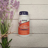 Now Foods Beta-Glucans 60 veg caps 250 mg, бета- глюкпны нау, фото 1