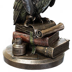 """Статуэтка """"Сова на книге с пером""""  23 см """"Veronese"""" 75033A4, фото 2"""