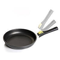 """Сковорідка зі зйомною бакелітовою ручкою, діам.32см """"optima"""" 00103s/32tp0 RISOLI"""