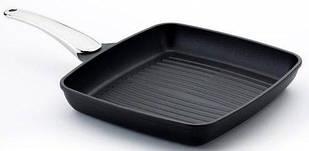 "Сковорода-гриль з металевою ручкою, 30х27см ""fusion"" 00094fa/30tp RISOLI"