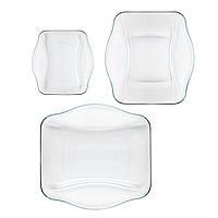 "Набор  6 предметов стеклянных тарелок NETTUNO ""you  me"" 0.5 л. 352210S06021990 BORMIOLI ROCCO"