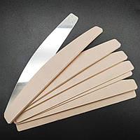 Сменные файлы 240 грит на мягкой прослойке для пилочки полумесяц Twist (50 шт)