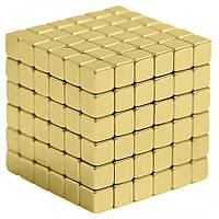 Тетракуб Neocube 216 кубиков 5мм в боксе Золотистый (4_00105)
