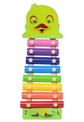Деревянная игрушка Ксилофон MD0712 Уточка