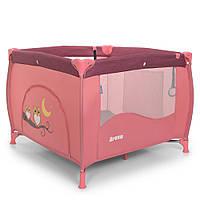 Детский игровой манеж El Camino ME 1030 Arena Rose Len Розовый
