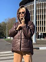 Женская зимняя куртка-зефирка, фото 1