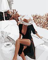 Картина по номерам ArtStory Дама на отдыхе 40*50см
