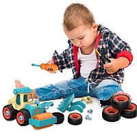"""Конструктор с отверткой Toys """"Строительная техника"""", фото 1"""