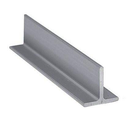 Тавр алюминиевый АД31Т5  15х10х1,5 мм  as/бп