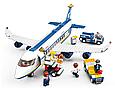 Конструктор SLUBAN  Авиация, Самолет 43 см 463 деталей, фигурки 7 шт M38-B0366, фото 4