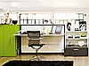 Горизонтально-откидная шкаф-кровать для кабинета или гостиной