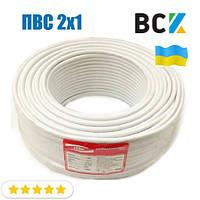 Провод кабель ПВС 2x1 ГОСТ цена от бухты 100м для подключения при монтаже и установках кондиционера