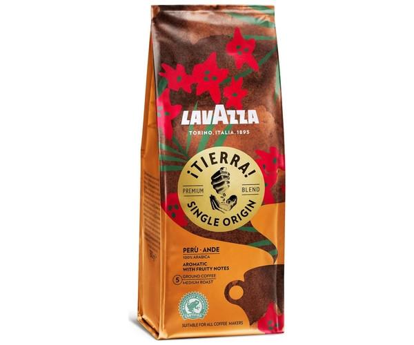 Кава Lavazza Tierra Peru мелений 180 г