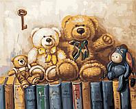 Картина по номерам ArtStory Любимые игрушки 40*50см