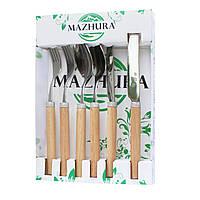 Набір приладів на 2 персони Beech wood MAZHURA