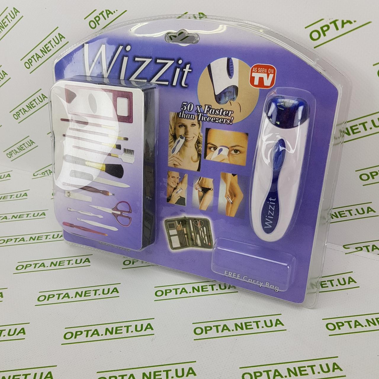 Домашний женский эпилятор, триммер Wizzit, My-Twizze (Май-Твизи) с набором