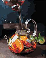 Картина по номерам ArtStory Ароматный чай 40*50см