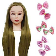 Манекен голова для створення зачісок з набором шпильок