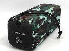 Портативная Bluetooth колонка Hopestar P15 Камуфляж, фото 3