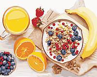 Картина по номерам ArtStory Полезный завтрак 40*50см, фото 1