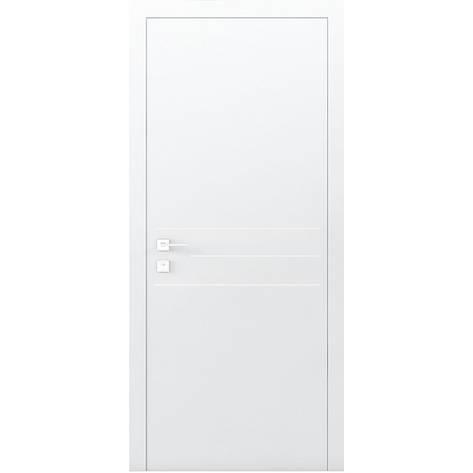Двери RODOS Cortes PRIMA 3G белый мат, фото 2