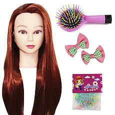 Набір для плетіння з тренувальної головою та набором для створення зачісок