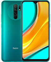 "Смартфон Xiaomi Redmi 9 4/128GB Green, 13+8+5+2/8Мп, Helio G80, 2sim, 6.53"" IPS, 5020 mAh, 4G (LTE), фото 1"