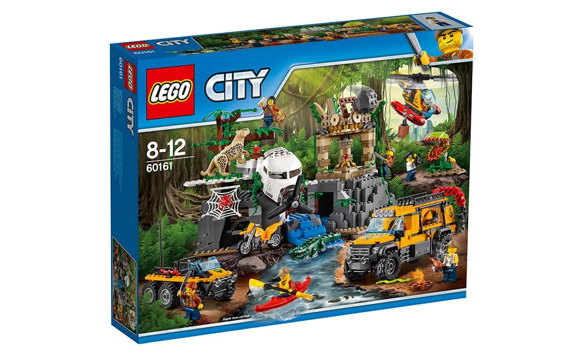 Конструктор LEGO База дослідників джунглів 813 деталей (60161)