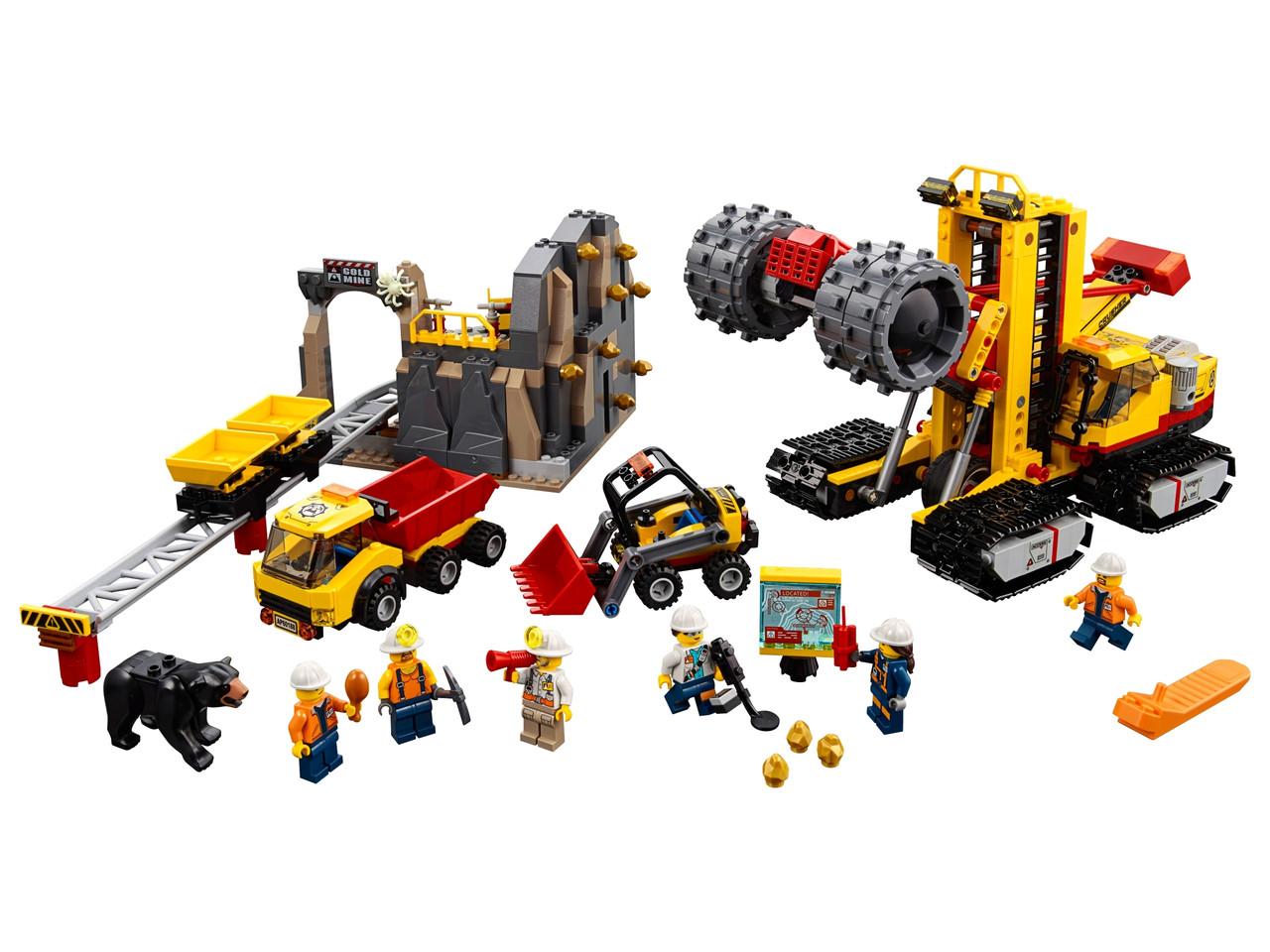 Конструктор LEGO Зона гірських експертів 883 деталей (60188)