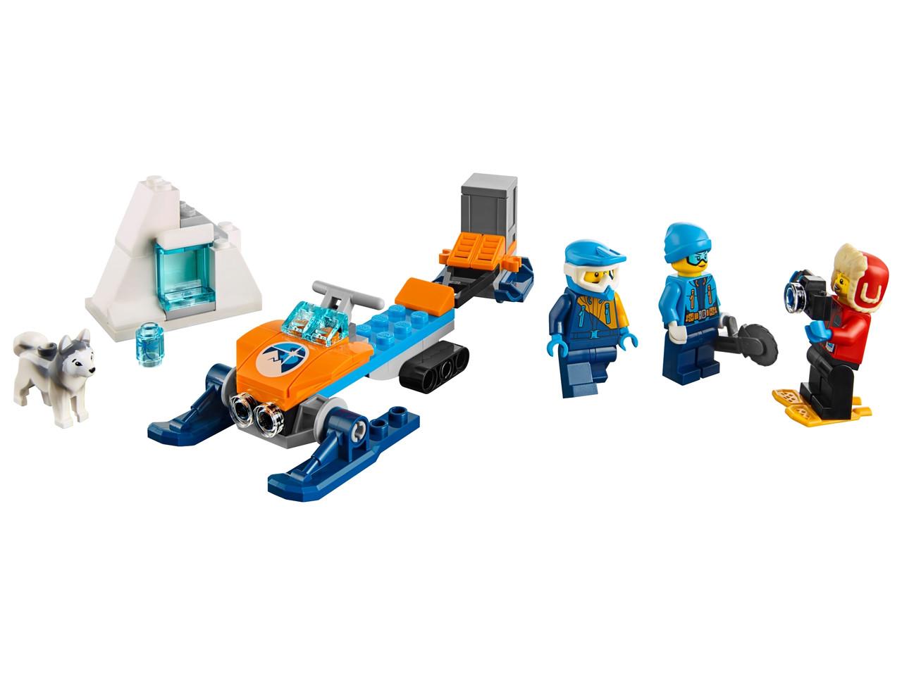 Конструктор LEGO Полярные исследователи 70 деталей (60191)
