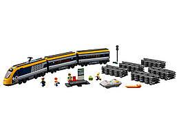 Конструктор LEGO Пассажирский поезд 677 деталей (60197)