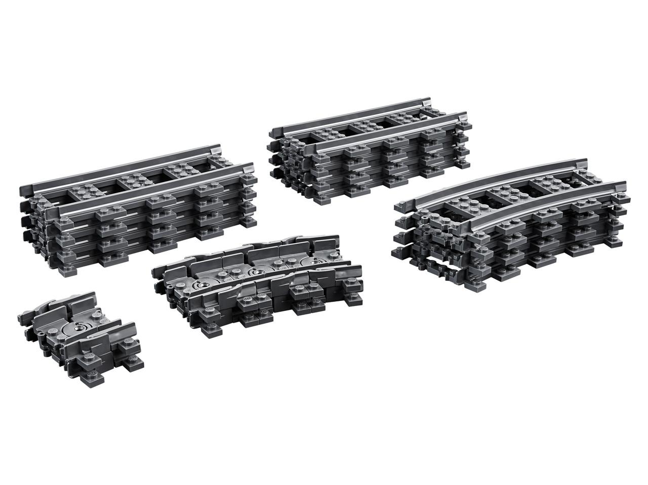 Конструктор LEGO Рельсы 20 деталей (60205)
