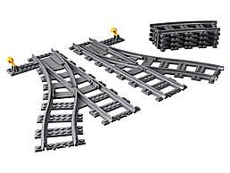Конструктор LEGO Рельсы и стрелки 8 деталей (60238)