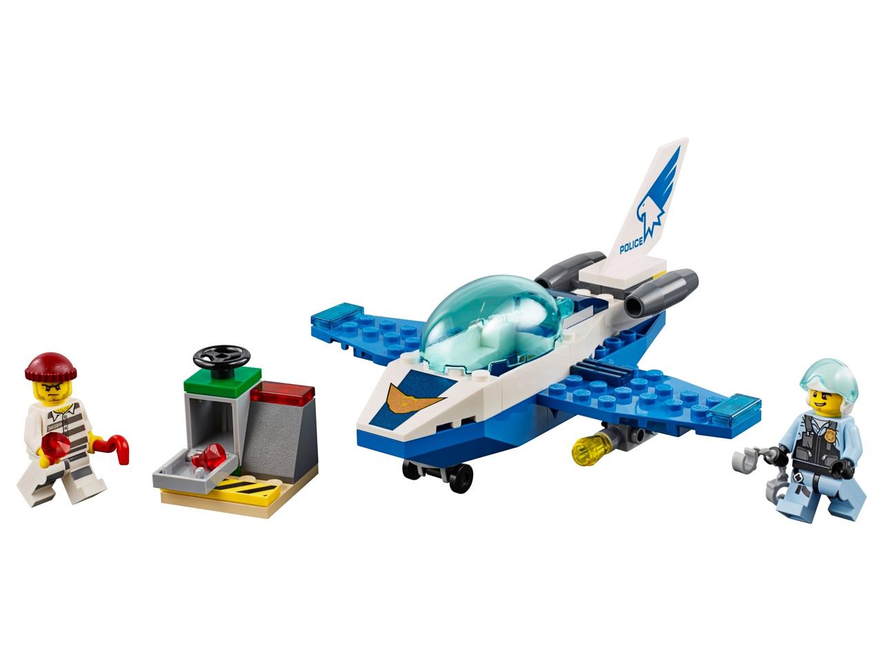 Конструктор LEGO Патрульный самолет 54 деталей (60206)