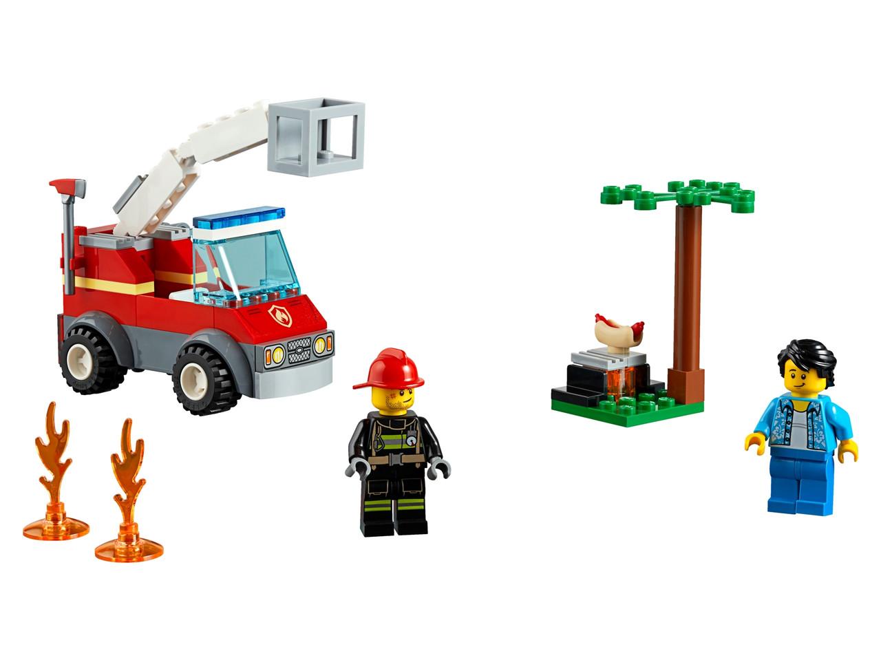 Конструктор LEGO Пожар на пикнике  64 деталей (60212)